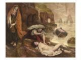 Haydée découvrant le corps de Don Juan (Byron - Don Juan Chant II 129-131) Giclee Print by Ford Madox Brown