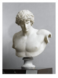 Bust of Antinous, Antinous Said Ecouen (117-138 Ad) Giclee Print