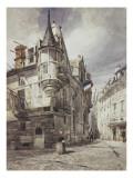 L'hôtel de Sens Giclee Print by Thomas Shotter Boys