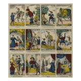 Histoire de don Quichotte Reproduction proc&#233;d&#233; gicl&#233;e