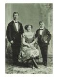 Arnoldi-Trio. Hand Phänomenal U. Kopf-Equilibristen Giclee Print