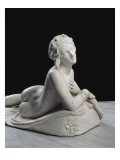 Bacchante au repos dite aussi Dirc&#233; Reproduction proc&#233;d&#233; gicl&#233;e par Lorenzo Bartolini