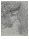 Head of a Young Man, His Shoulders Briefly Indicated Giclee Print by Alfred Sisley