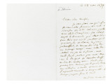 Autograph Letter Signed to Berryer, November 28, 1859 Giclee Print by Eugene Delacroix