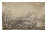 Bataille de Lodi, le 10 mai 1796 Giclee Print by Antoine Charles Horace Vernet