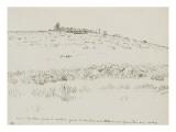 Haute pre en Auvergne : la traite des vaches prde Dyane (1866) Giclee Print by Jean-François Millet
