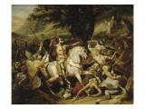 Bataille de Las Navas de Tolosa, 1212 Giclee Print by Horace Vernet
