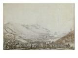 Bataille de Castiglione, le 5 août 1796 Giclee Print by Antoine Charles Horace Vernet