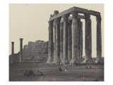 Ath&#232;nes, le Temple de Jupiter Giclee Print by James Robertson