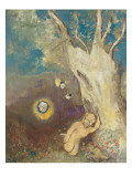 Sommeil de Caliban (Shakespeare, la Tempête, acte II, scène II) Giclee Print by Odilon Redon