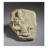 Plaquette : déesse assise aux oies Giclee Print