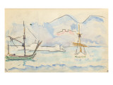 Carnet : La côte Nord de la Corse Giclee Print by Paul Signac