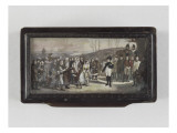 Box of Napoleon Granting Pardons to People Osterode Giclee Print