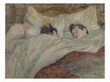 En la cama Lámina giclée por Henri de Toulouse-Lautrec