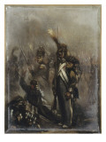 A Waterloo Giclee Print by Denis Auguste Marie Raffet