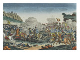 Battle of Saalfeld, Death of the Prince of Prussia Giclee Print
