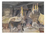 Bakehouse to Baschardière to Vouzon (Loir-Et-Cher) Giclee Print