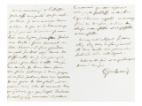 Autograph Letter Signed to Berryer, January 5, 1861 Giclee Print by Eugene Delacroix