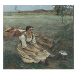 Les foins Giclee Print by Jules Bastien-Lepage