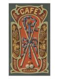 Café Lámina giclée