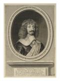 Henri d'Orléans, duc de Longueville et d'Estouville, prince souverain de Neufchâtel (1595-1663) Giclee Print by Robert Nanteuil