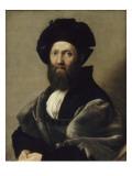 Balthazar Castiglione Giclée-tryk af Raffaello Sanzio