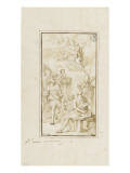 Apparition of the Virgin and Child with Many Saints Gicle-tryk af Francesco Solimena