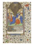 Heures à l'usage de Troyes. La Pentecôte Giclee Print