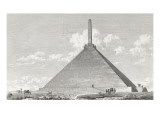 High Pyramid to the August French Emperor Napoleon I. Giclee Print