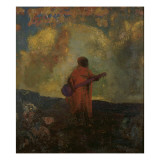L`Arabe Reproduction procédé giclée par Odilon Redon