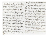 Lettre autographe sign&#233;e &#224; Berryer, Champrosay ce 14 Octobre 1860 Giclee Print by Eugene Delacroix