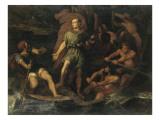 César et sa fortune Lámina giclée por Jules Elie Delaunay