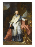 Jacques Benigne Bossuet (1627-1704) Giclee Print by Hyacinthe Rigaud