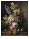 Bouquet Giclee Print by Jan Frans van Dael