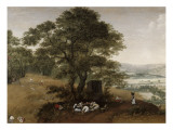 La moisson Gicl&#233;e-Druck von Lucas Van Valckenborgh