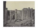 Athènes, les propylées de l'Acropole Giclee Print by James Robertson