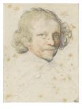 Tête d'homme dans la force de l'âge Giclee Print by Robert Nanteuil
