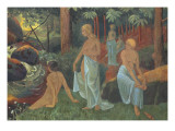 Baigneuses aux voiles blancs Giclee Print by Paul Serusier