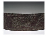 Bronze Belt Plate Decorated with a Frieze of Animals Giclee Print