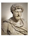 Buste cuirassé de l'empereur Marc Aurèle (empereur de 161-180 après J.C) Giclee Print