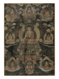 Bhaisajyaguru Reproduction proc&#233;d&#233; gicl&#233;e
