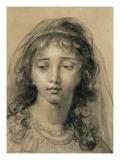 Tête de jeune fille Giclée-Druck von Elisabeth Louise Vigée-LeBrun