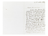 Autograph Letter Signed to Berryer, October 6, 1859 Giclee Print by Eugene Delacroix