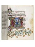 Book of Hours Torriani. Horae Secundum Usum Romanum Giclee Print