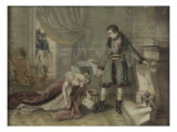 "Box: ""The Clemency of Napoleon to Madame De Hatzfeld"" Giclee Print"