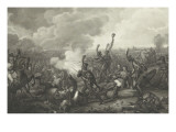 Battle of Esling or Death of the Duke of Montebello Giclee Print by Antoine Charles Horace Vernet
