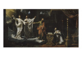 Apparition of St. Gervais and St. Protais St. Ambrose Giclee Print by Philippe De Champaigne