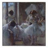 Groupe de danseuses Giclee Print by Edgar Degas