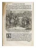 "Book: Pages ""Esequie Arrigo Iv ..."" Giuliano Giraldi Giclee Print"