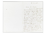 Autograph Letter Signed to Berryer, October 20, 1858 Giclee Print by Eugene Delacroix